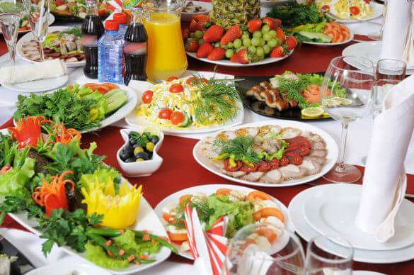 Питание в гостинице «Айвенго»